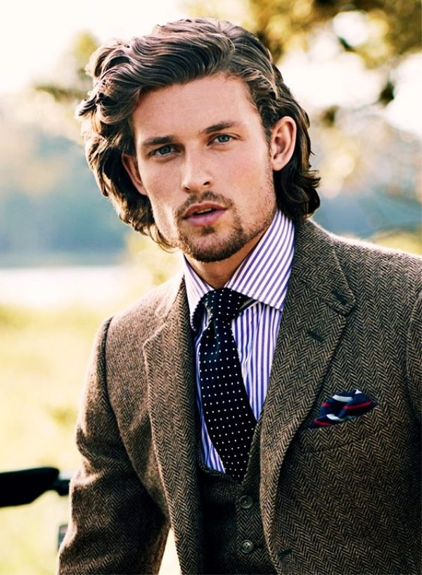 40 Irresistibly Attractive Long Hairstyles For Men , Machovibes