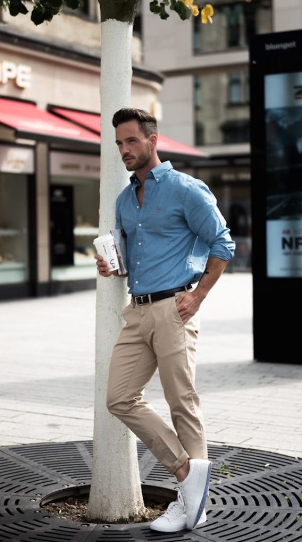 Office Roved Work Outfits For Men
